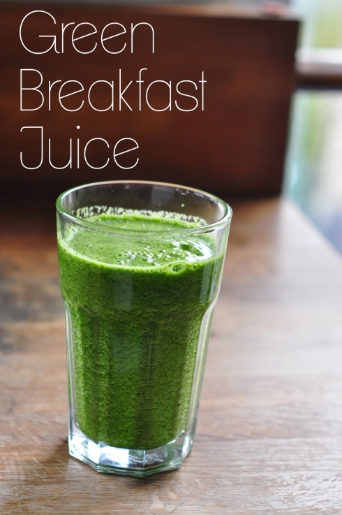 Green Breakfast Juice
